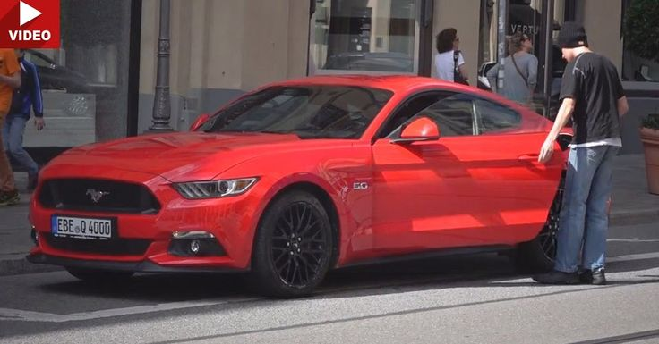 Is A Street Beggar Really Driving Around In A New Ford Mustang GT? #Ford #Ford_Mustang
