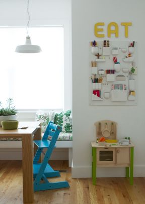 Love the lil kitchenet Living With Kids: Meta Coleman