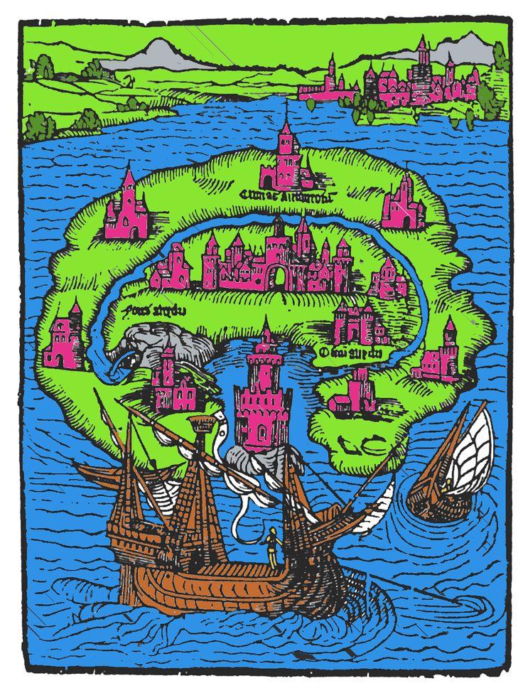 "#book #utopia Online Version of sir Thomas Morus' classic ""Utopia""."