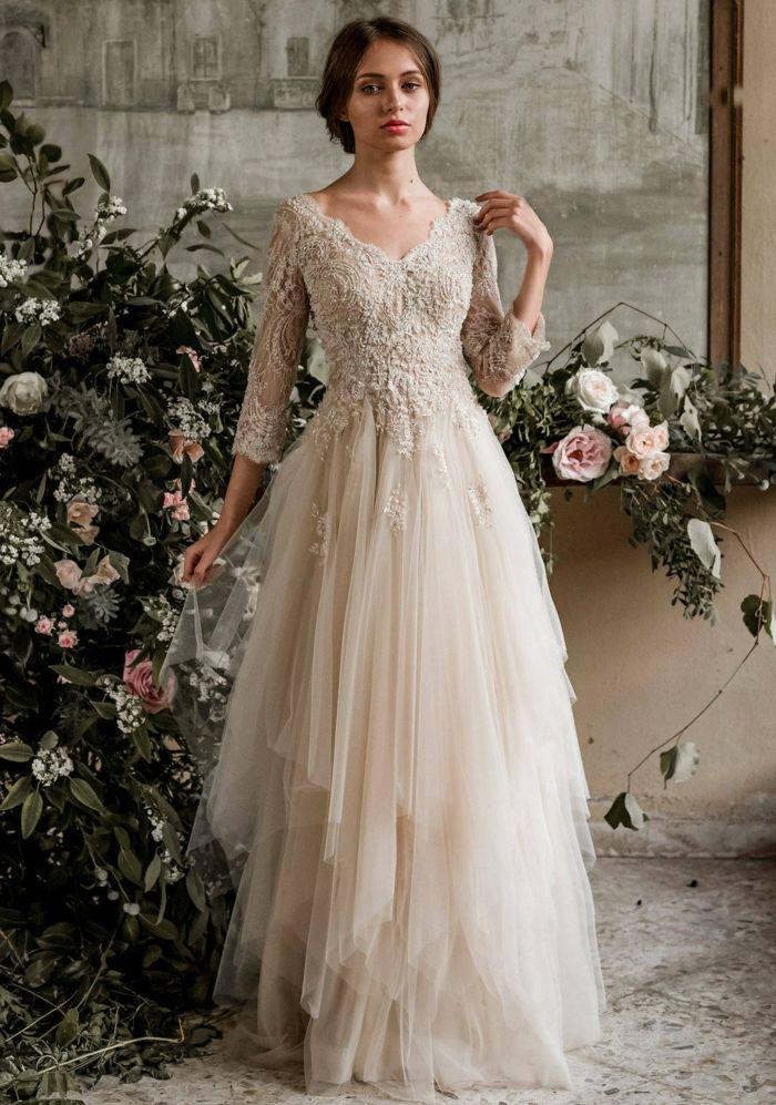 ▷ 1001 + ideas de vestidos de novia ibicencos que simplemente
