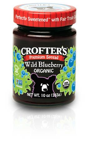 Crofters Organic - Products - Wild Blueberry - Premium Spreads