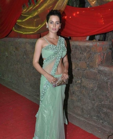 Kangna Ranaut in Beautiful Saree