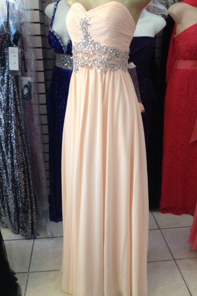 beautiful prom dress I saw downtown Los Angeles during the summer