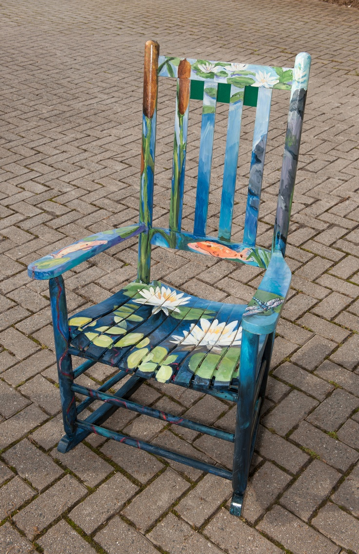 Funky painted furniture ideas - Blue Ridge Waterscapes Painted By Marty Cain Funky Furniturepainting Furniturefurniture Ideaspainted