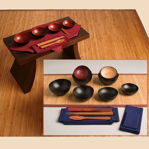 Ziji - Oryoki Set - Mango Wood, $115.00 (http://www.ziji.com/products/meditation-supplies/oryoki-ritual-items/oryoki-set-mango-wood/)