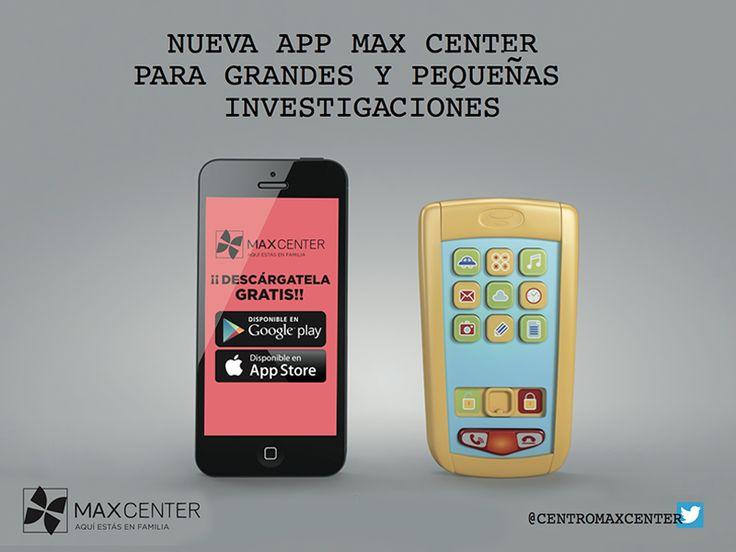 Ya puedes descargarte nuestra nueva #app #móvil! Información, servicios, mapas, promociones.... toda la información de Max Center la tendrás en la palma.de tu mano!  ►iTunes: http://goo.gl/mc2Wfw  ►Google: Play http://goo.gl/s4e2E5