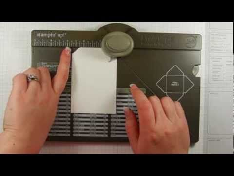 ▶ How to Make a Tag Using the Envelope Punch Board - YouTube  Stampin' Up!