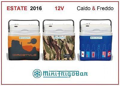 Frigorifero Mini Frigo Portatile Piccolo da Viaggio Elettrico 12V in Auto 25 Lt