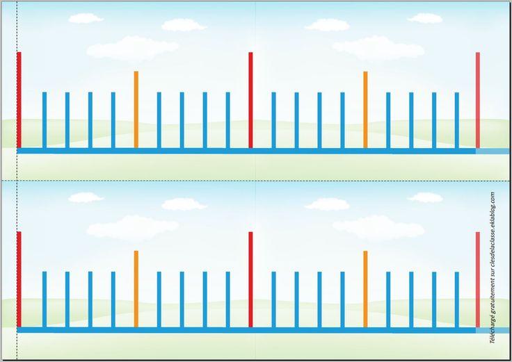 ligne gradu e droite des nombres fractions les cl s de la classe a fabriquer pour la. Black Bedroom Furniture Sets. Home Design Ideas
