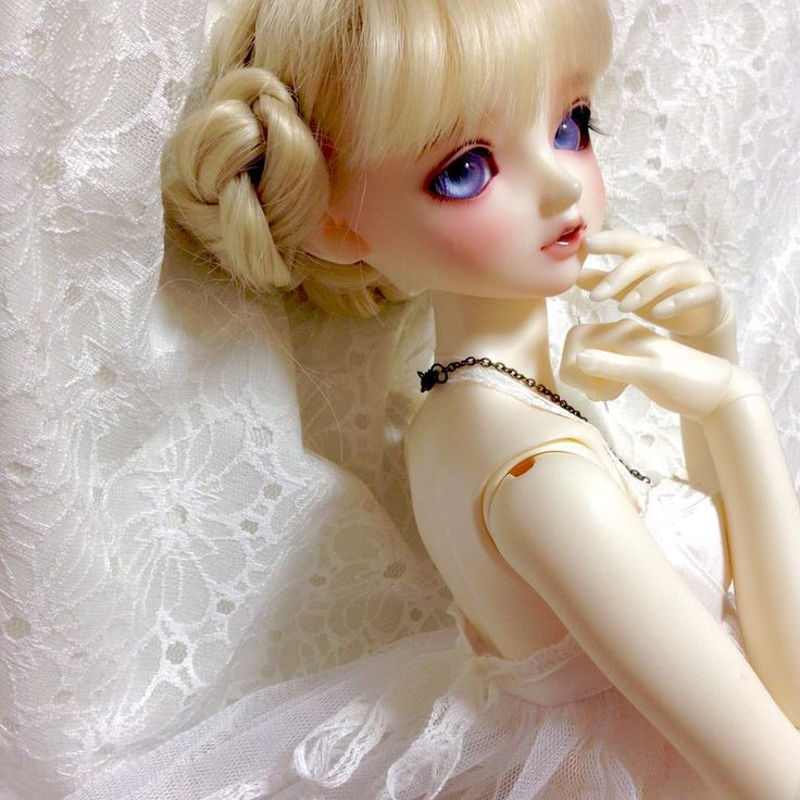 """Gr少女の背中好き(*´艸`*) #スーパードルフィー #superdollfie #bjd #doll"""