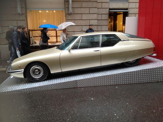 Citroen SM Maserati in Milan