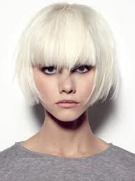 very short bob with blunt bangs - Google Search