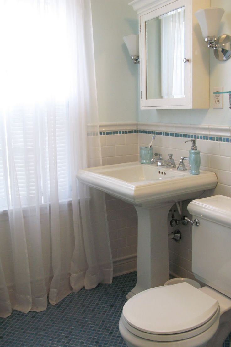 Just*Grand: *Original 1930's Hall Bathroom Remodel * Before and After