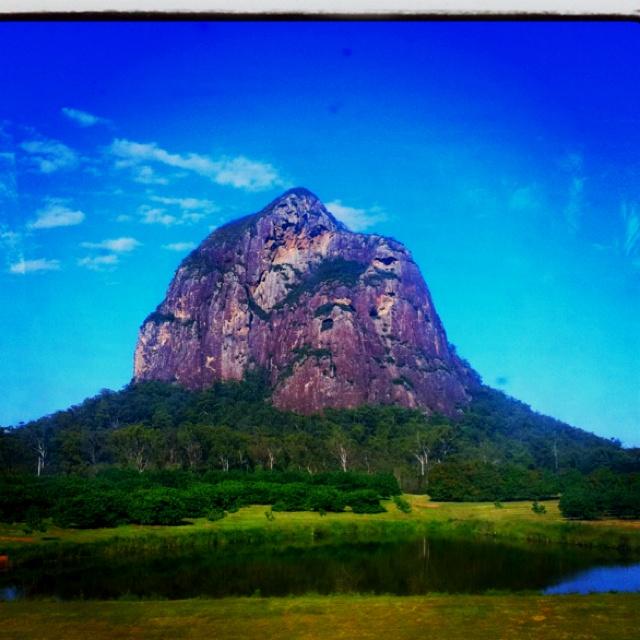 Glass house mountains