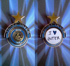 Distintivo Spilla pin badge logo F.C. Inter a 2 lati girevoli
