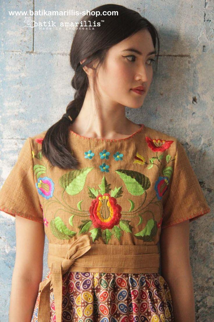 batik amarillis's diva dress-revamped available at Batik Amarillis webstore www.batikamarillis-shop.com