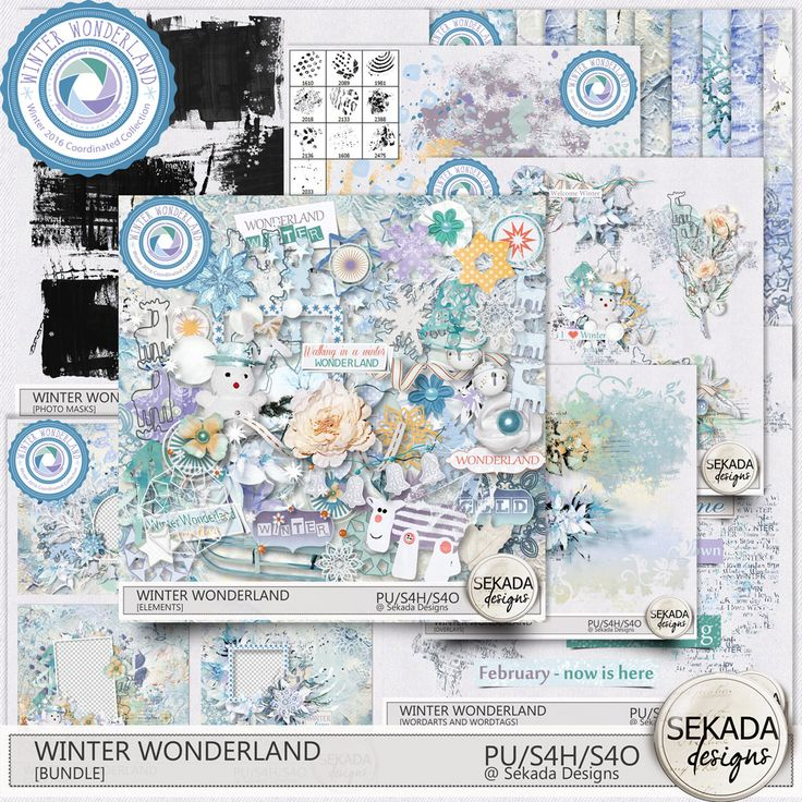 Collections :: Coordinated Collections :: Winter Wonderland :: Winter Wonderland Bundle