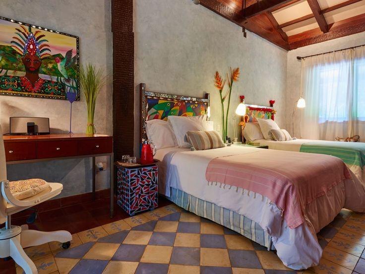 Binnenkijker: dit is het kleurrijkste hotel in Panama