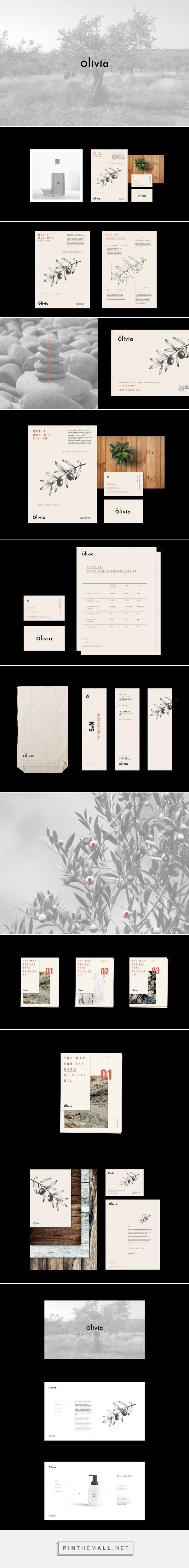 Olivia olive products on Behance