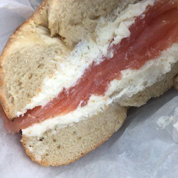 La Bagel Delight - Brooklyn, NY, United States. Lox and cream cheese: the…