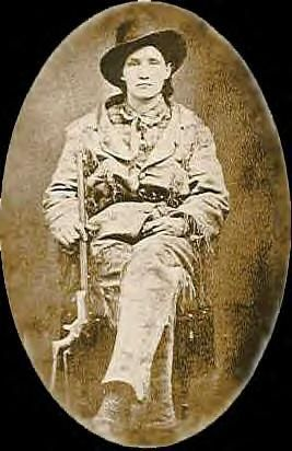 "Martha Jane Canary (May 1, 1852 – August 1, 1903), better known as Calamity Jane, was an American frontierswoman, and professional scout best known for her claim of being an acquaintance of Wild Bill Hickok, but also for having gained fame fighting Native Americans. She is said to have also exhibited kindness and compassion, especially to the sick and needy. ""By the time we reached Virginia City I was considered a remarkable good shot and a fearless rider for a girl of my age."""