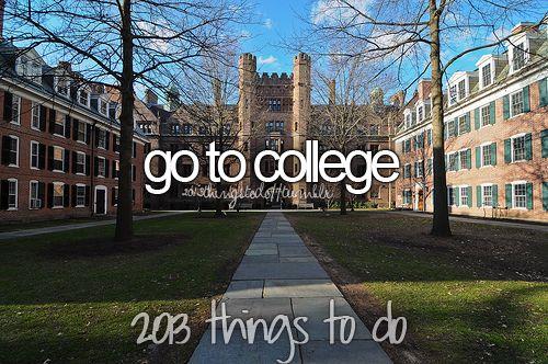 ir a la universidad