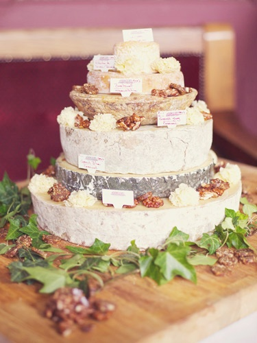 OMG...NEED....Cheese wedding cake from Androuet in Spitalfields.