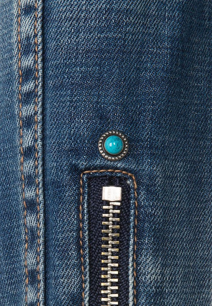 Schott NYC Veste en jean - blue rain - ZALANDO.FR