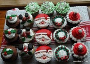Santa Baby Christmas Cupcake Ideas   Cupcake Ideas For You cupcakeideasforyou.com