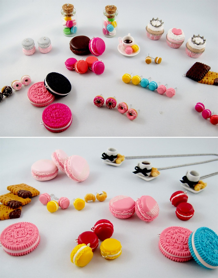 ☆ Les bijoux gourmands de Chez Laurette ☆  http://mygiftsandyou.com/blog/chez-laurette/