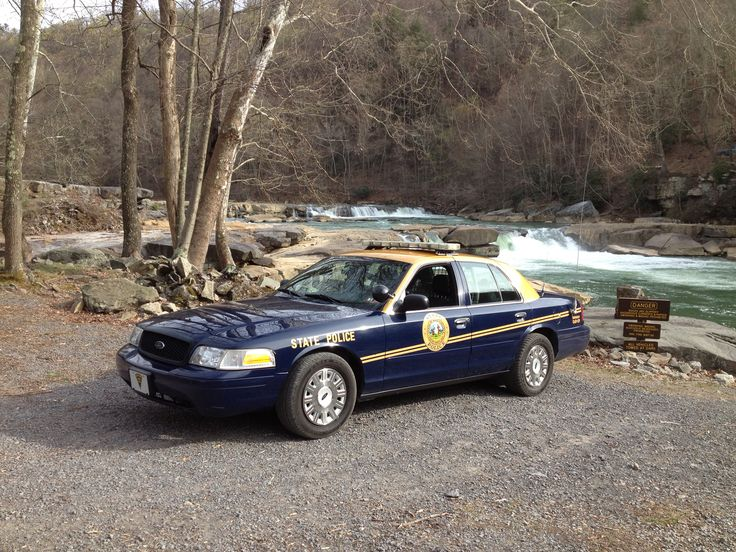 West Virginia State Police at Valley Falls State Park