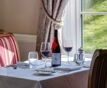 Wine Menu Luxury Hotels Wales Country House Lake Hotel