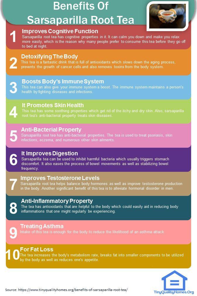 13 Health Benefits Of Sarsaparilla Root Tea Benefits Of Coconut