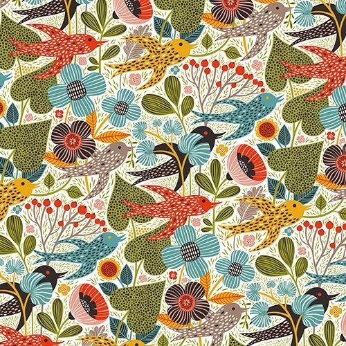 Summer Gardening wall murals - wallpaper | Helen Dardik