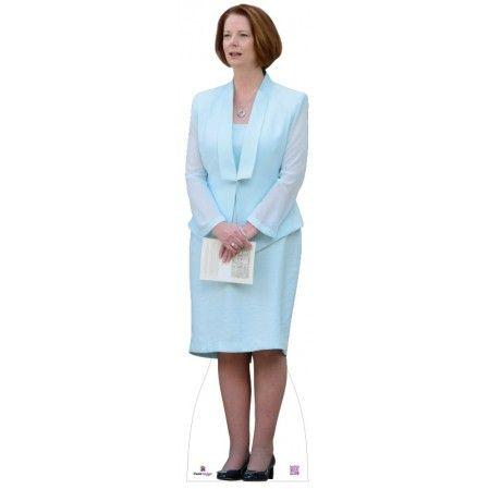 Julia Gillard Cardboard Cutout  Height: 170cms