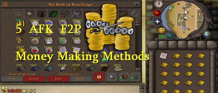 Osrs Gold Guide 5 Afk F2p Low Requirement Money Making Methods