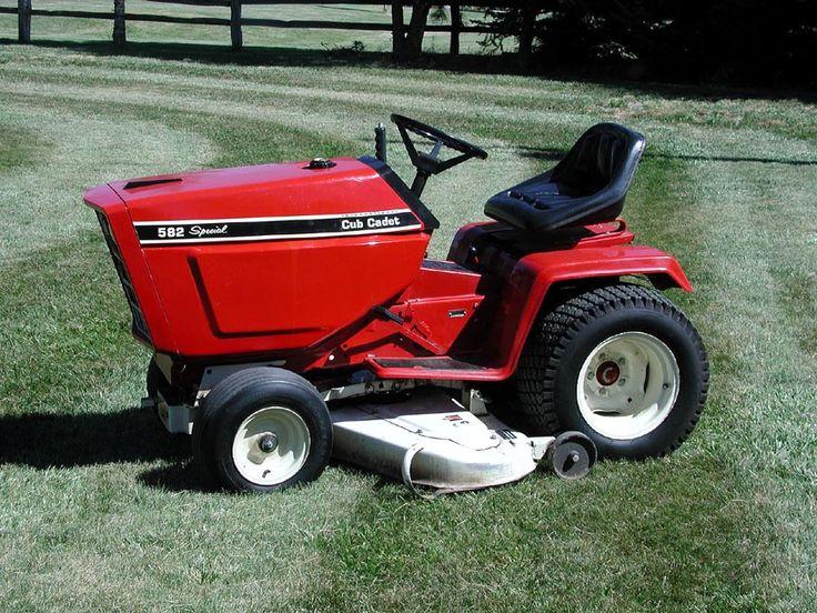 Internal Cub Cadet Lawn Mower : Best images about garden tractors on pinterest