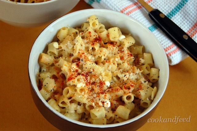 Macaroni And Cottage Cheese