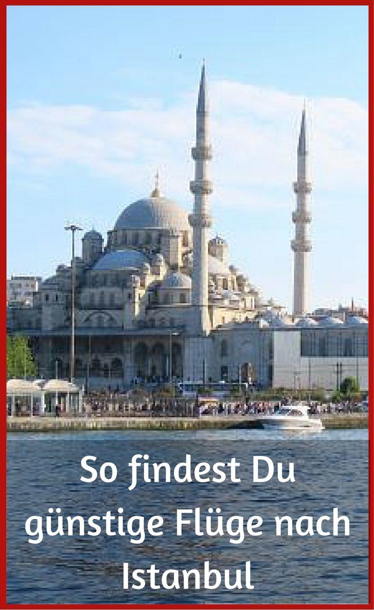 Meine Tipps um günstige Flüge nach Istanbul zu finden! http://www.tuerkeireiseblog.de/guenstige-fluege-nach-istanbul/