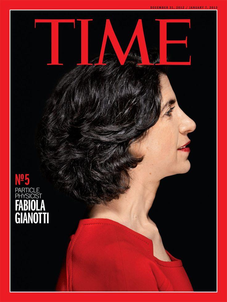 Fabiola Gianotti - Italian particle physicis
