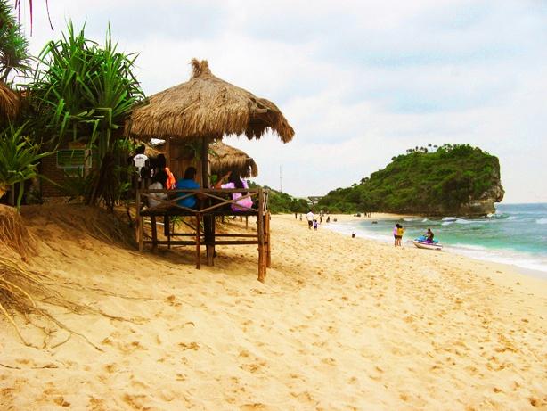 Indrayanti beach - Wonosari, Gunung kidul - Jogjakarta - Indonesia