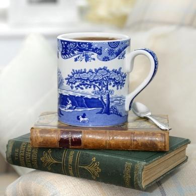 SpodeVintage Books, Blue Cups, Blue Room, Blue China, Coffee Cups, Blue Italian, Spode Blue, Coffee Mugs, Good Books
