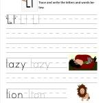Here are 52 free worksheets that you can use to practice handwriting.