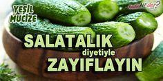Salatalığın yalnızca salatalara renk katan bir sebze olduğunu biliyorsanız yanılıyorsunuz. İşte zayıflatan yeşil mucize…    Salatalık en mühim diüretik özelliklere sahip sebzelerden bir tanesidir. Ayrıca alkali bir besin özelliğiyle de bilinir ve aşırı suyun vücuttan atılmasına fayda sağlar.  Salatalık farklı sebzelere göre asit düzensizliğini daha çabuk dengeli hale getirir.  Asit düzensizliği pek çok hastalığa sebep olması nedeniyle ciddi bir problemdir.  İyileşmeyen yaralar ve sivilceler…