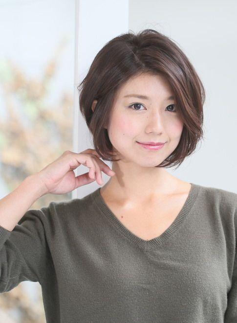 秋にオススメ☆大人クールなボブスタイル(髪型ボブ)