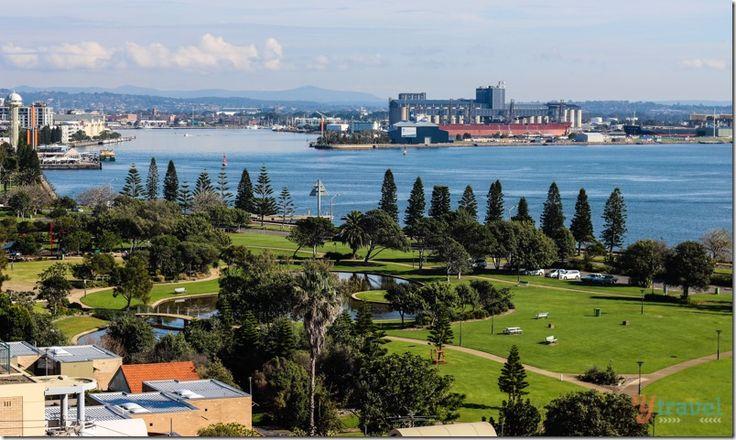 Not the prettiest place but I think u should visit Newcastle, Australia
