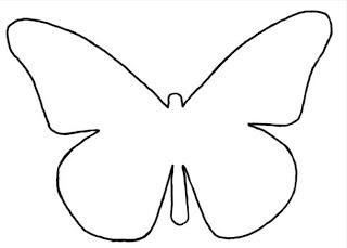 Sjabloon Vlinder
