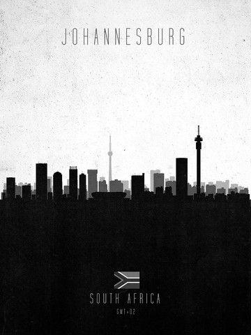 Johannesburg, illustrated.