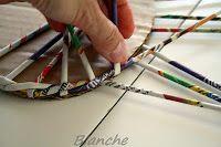Blanche - Křížem krážem: začátek pletení