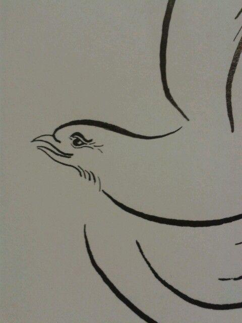 Bird flourish - as like in a fairy tale